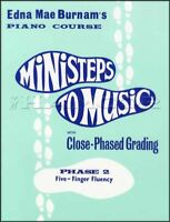 Ministeps to Music Phase 2 Piano Sheet Music Book Method Learn How to Play
