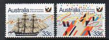 AUSTRALIA MNH 1986 SG1000-1001 150TH ANV OF SOUTH AUSTRALIA SET OF 2
