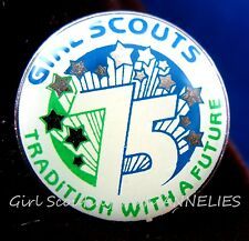 1987 NEW Girl Scout PIN, 75th Anniversary Tradition with a Future Special GIFT