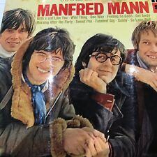 MANFRED MANN 1968 LP WHAT A MANN ORIG UK (?) FONTANA 859 003 FZY VG+/EX-