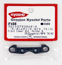 Kyosho IF486 Front Lower Sus. Holder B(R/Gunmetal/MP9