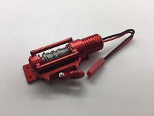 electric winch Aluminum Alloy CNC 1/10 Scale For SCX10 TRX4 Crawler Rc Car Red