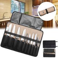 10/21 Pockets Chef Knife Bag Roll Bag Carry Case Bag Kitchen Portable Storage .,