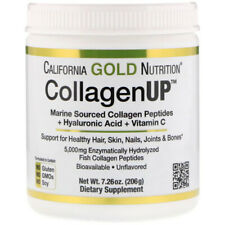 California Gold Nutrition, Colágeno em 5000, peptídeos de colágeno marinho, 206 G