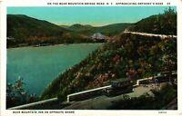 Vintage Postcard - Bear Mountain Bridge Road Approaching Nose New York NY #3486