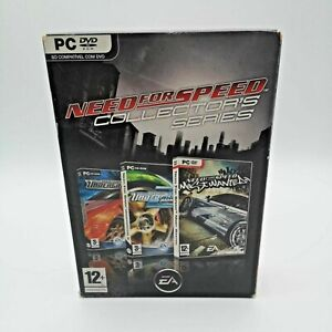 Need for Speed Collector's Series Game for Windows PC | Good Condition | CIB