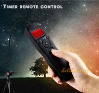 Timer Remote Shutter Release for Canon D30 D60 1D 1Ds 5D 7D 10D 20D 30D 40D 50D