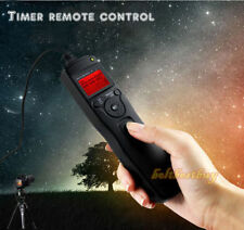 Temporizador LCD remoto Intervalómetro Lapso de tiempo del obturador F Nikon D90 D7100 D5200 D600