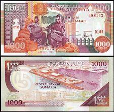 Somalia 1000 Shillings 1996, UNC, 5 Pcs LOT, Consecutive, P-37b