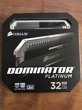 CORSAIR Dominator Platinum 32GB 3000MHz (2 x 16GB) CMD32GX4M2B3000C15