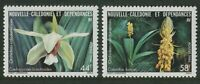 NEW CALEDONIA: ORCHIDS 1986 - MNH SET OF TWO (G21-PB)