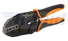 Anvil Av-crmpe acción del trinquete herramienta de crimpado para conectores de cable coaxial RG tipo