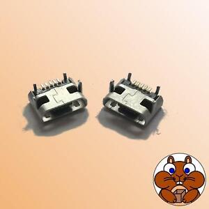 2x Micro B USB Buchse 5 Pin Einbaubuchse Ladebuchse Handy Tablet Mini SMD RG1/1