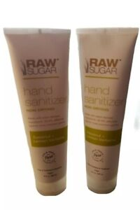 Raw Sugar (2 pack) Coconut Lemon Verbena Hand Sanitatizer- Vegan 9oz Non Drying