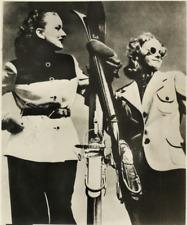 La Mode aux Courses d'Hiver  Vintage silver print Tirage argentique  13