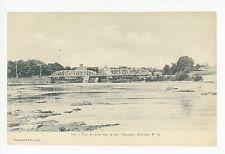 Yamaska—Farnham QUEBEC Rare Antique CPA Vue du Pont ca. 1920s