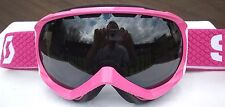 NEW $110 Scott Womens Reply Ladies Pink Rose Violet Ski Goggles Snow Roxy White
