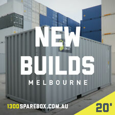 20FT QUALITY NEW BUILD | Shipping containers + lockbox  - Melbourne