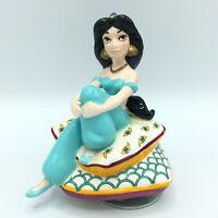 Vintage Disney Aladdin Jasmine Figurine Schmid Music BoxPlays A Whole New World