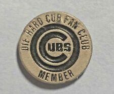 Die Hard Cub Fan Club ,Chicago Cubs, Fine Pewter Collector, Lapel Pin