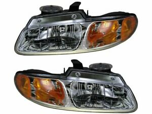 For 1996-1999 Plymouth Grand Voyager Headlight Assembly Set 57982FT 1997 1998