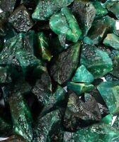 Natürlicher kolumbianischer grüner Smaragd-Edelstein von 300 ct, raues Los