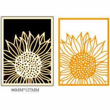 1pc Sunflower Design Metal Cutting Dies For DIY Scrapbooking Album Paper Card TK