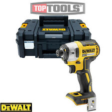 Dewalt DCF887N 18V XR Brushless 3 Speed Impact Driver With T-Stack Case & Inlay