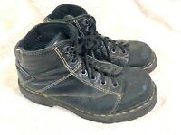 Dr. Martens Doc Martens 8A07 Men's Black Combat Ankle Boots Size 8 US 41 EUR