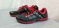 Under Armour Micro G Split II Coldblack Size 14 1233573 002