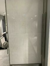 JOB LOT 30M² Grey Marble High Gloss Porcelain Tiles Large Format 60x120 cm