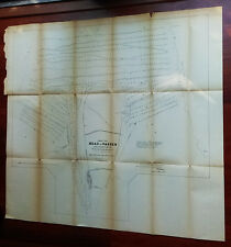 1881 Diagram Location of Heads of Passes Jetties Dikes Dams Mississippi River