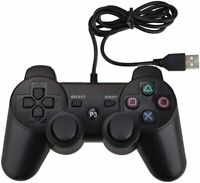 PS3 PC USB 2.0 Wired Game Controller Gamepad Joypad for Laptop Computer