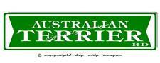 Australian Terrier Dog Aluminum Street Sign Free shipping