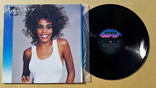Vintage original 1987 Whitney Houston Record 33 LP vinyl album Mint, press error