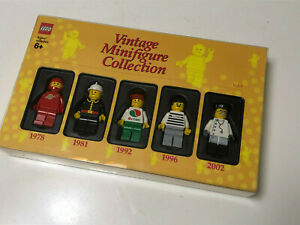 LEGO VINTAGE MINIFIGURE COLLECTION Vol. 1 NEW 4536875 FREE SHIPPING