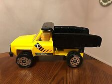 Tonka Vintage Pressed Steel Yellow Construction Truck