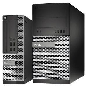 Dell OptiPlex Computer Desktop Quad Core i5 CPU UpTo 16GB RAM 2TB HDD 480GB SSD