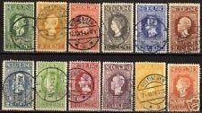 Netherlands 1913 NVPH 90-101  CANC VF