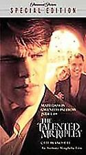 The Talented Mr. Ripley (Vhs, 2001, Special Edition)y3f