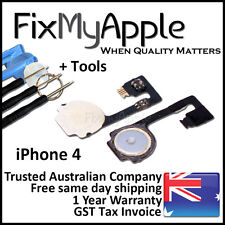 iPhone 4 4G Home Button Flex Cable Ribbon Repair Replacement New A1332 Tools Kit