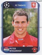 N°058 WISGERHOF NETHERLANDS FC.TWENTE UEFA CHAMPIONS LEAGUE 2011 STICKER PANINI