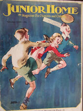 1929 Junior Home Magazine Cover Only Robb Beebe Illustration