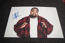 GAMAL LUNCHMONEY LEWIS signed Autogramm auf 20x30 Foto InPerson WHIP IT! - BILLS