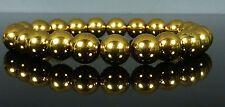 Gold Magnetic Hematite Bracelet IPG Plated