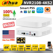 Dahua 4K 8CH NVR2108-4KS2 1U Lite H.265 Network Video Recorder Surveillance NVR