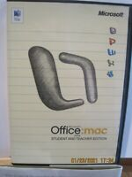 Office 2004 Student And Teacher Edition For Sale