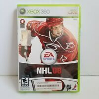 NHL 08 Xbox 360 Sealed Hockey Game EA Sports