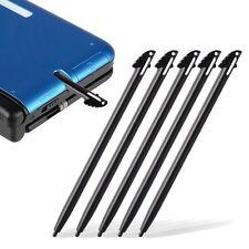 5x Nintendo 3DS N3DS XL LL Black Plastic Touch Screen Stylus Pen