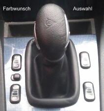 Mercedes slk R 170 cuero genuino del circuito circuito saco manguito con palanca de cambio